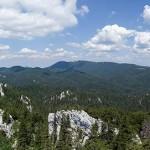 Pogled s bijelih stijena